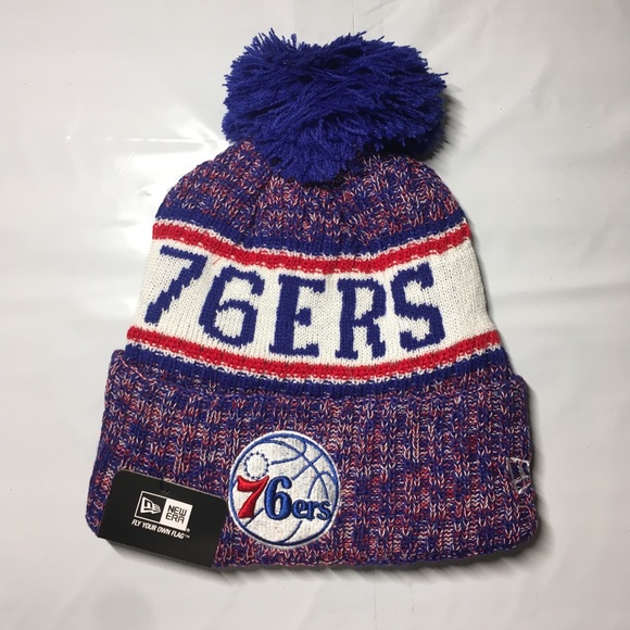 d571998c484d58 New Era Accessories | Philadelphia 76ers Beanie Hat | Poshmark